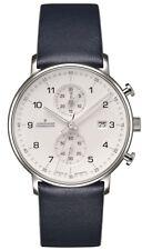 AUTHORIZED DEALER Junghans 041/4775.00 Form C Chronoscope Quartz Watch