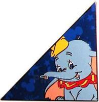 Dumbo Tangram Disney Pin 55694 DLR Disneyland Flying Elephant Festival LE 500