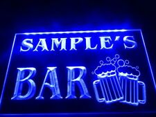 Name Personalized Beer Led Neon Light Sign Custom Home Pub Bar Mugs Cheers Gift