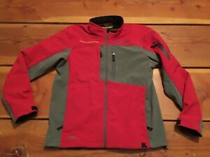 RARE🔥 Klim Goldwing Inversion Jacket G0re-Tex Windstopper Large Soft Shell RED