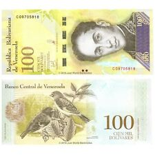 Venezuela 100000 Bolivares 2017 P-100b Banknotes UNC