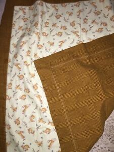 Guess How Much I Love You Bunny Baby Security Blanket Lovey Very Well Made 34x36
