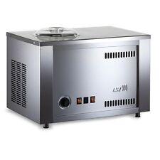 Musso Fiume Giardino Italian Gelato Ice Cream Compressor Commercial Machine 110V