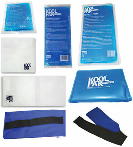 KoolPak Reusable Hot Cold Ice Gel Pack | All Sizes |Optional Sleeves| 1 - 10 ...