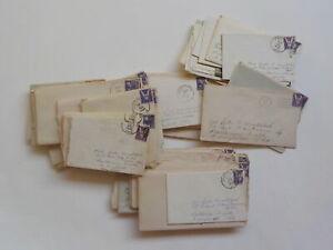 54 WWII Letters Patterson Field Fairfield Ohio Jamestown Air Force Lot VTG WW2