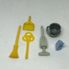 Playmobil Cleaning Supplies Vacuum Iron Broom Dustpan Carpet Beater Equipment