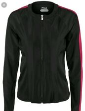Fila  Sleek streak jacket W's lg black NWTS