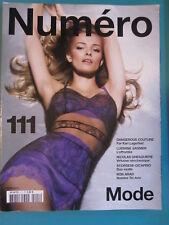 Numero Magazine #111 -  March 2010 - EDITA VILKEVICIUTE