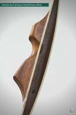Vertex by Fairbow, reflex Deflex Longbow 25 lbs at 28 inch American Flatbow