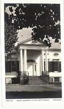 TAFT MUSEUM CINCINNATI OHIO 1932  FRONT DOOR WAY VINTAGE POSTCARD