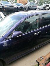 Honda Accord VII Tourer Tür vorne links blau b-502p