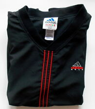 New listing Vintage ADIDAS GOLF -- Preowned Men's XTRA LARGE BLACK VEST w 3 Red Stripes tb