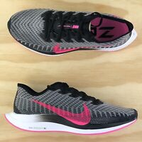 Nike Zoom Pegasus Turbo 2 Black White Running Cross Fit Shoes AT2863-007 Size