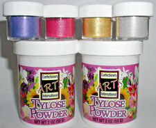 Tylose Powder Gold Silver Blue Berry Luster Dust For Cake Decorating Fondant