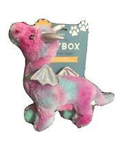 Fringe | Multicolored Dragon | Extra Loud Squeaker Plush Dog Toy