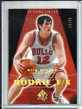 Kirk Hinrich 03/04 SP Authentic SP Extra Edition Rookie #13/25