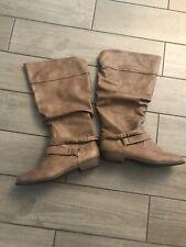 NWOT Womans Tuape Boots Size 11 Wide By Joe Boxer