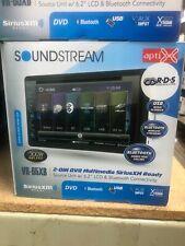 SOUNDSTREAM DOUBLE DIN VR-65XB DVD/CD MP3 PLAYER 6.2