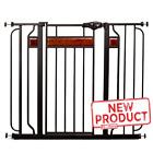 Baby Safety Gate Extra Tall Walk Thru Pet Fence Indoor Security Dog Door Wide