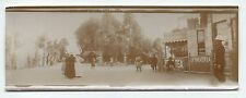 C555 Photo vintage Original Panoramic citrate Inde Hayeling Magasin Thé 1900