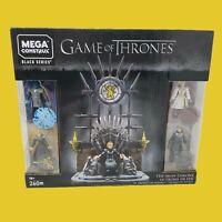Mega Construx Black Series - Game of Thrones The Iron Throne Set GKM68 ~ New