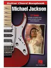 Michael Jackson Guitar Chord Songbook Learn to Play Lyrics & Chords MUSIC BOOK