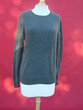 Nordstrom 1901 Army Green Orange 100% Cashmere Women's Sweater Sz Xl
