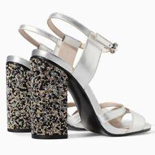 Zara Sandals 100% Leather Heels for Women