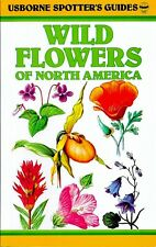 Wild Flowers of North America, Usborne Spotter's Pocketbook Field Guide NEW