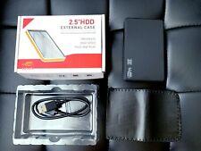"2.5"" SATA Hard Drive External USB 3.0 Enclosure HDD Case Durable Case Retail Box"
