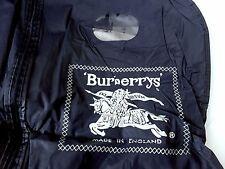 BURBERRY Blue in plastica Sacchetto di indumento
