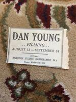 M6-3 Ephemera 1945 Advert Theatre Dan Young Actor