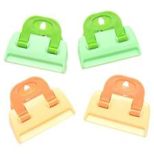 4pcs Household Food Snack Sweets Sealer Clamp Clips Sealing Bag Kitchen Tool LA