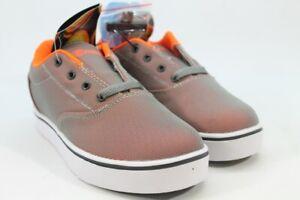 Heelys Launch Boy's Big Kid Charcoal/Orange Sneakers 7M(ZAP11082)