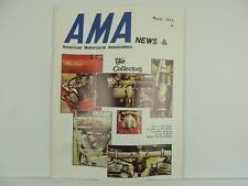 Vintage March 1973 AMA NEWS Motorcycle Magazine Indian Koni Suzuki Hodaka L3730