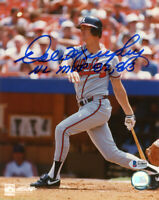 DALE MURPHY SIGNED AUTOGRAPHED 8x10 PHOTO NL MVP 82 83 BRAVES LEGEND BECKETT BAS