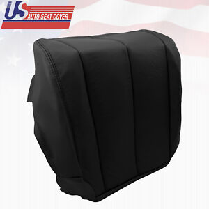 2006 Driver Bottom Leather Seat Cover Black Fits Nissan Murano S SE SL Sport