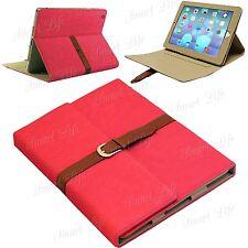 De Lujo Funda Piel Con Cinturón correa soporte para Apple iPad 5/4/3/2 AIR