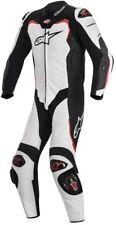 Tuta Alpinestars GP Pro Tech Air Bag Compatible Bianco-nero-rosso 52 (eu) 3155016-213-52