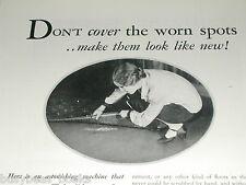 1930 Ponsell Floor Sander, Polisher, Refinish Floors