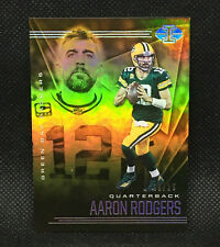 #/25! 🚨2020 PANINI ILLUSIONS AARON RODGERS GREEN BAY PACKERS #4