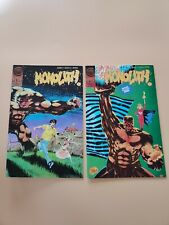 Monolith #1 and #2  (Comico,1991) Jones Castle Byrd *Great Condition*