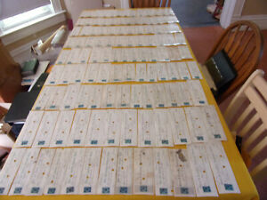 1800'S BANK CHECK COLLECTION W/REVENUE STAMPS, SHOE & LEATHER, BOSTON