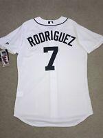 Authentic Ivan Pudge Rodriguez On-Field Detroit Tigers Majestic Jersey 48 XL
