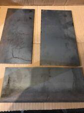 3x Mild steel plate, Sheet Steel. 3mm Thick