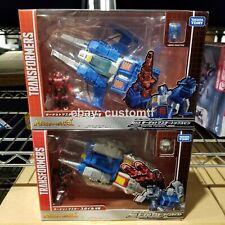 Takara Transformers Legends LG55 LG56 Twin Twist Topspin Headmasters *H4