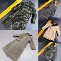 1/6 Scale WWII German Army Winter Coats Overcoat Soldier Clothes Toys 6 Styles