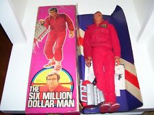 New ListingBoxed 1975 True 1St/Ed W/Elastic Six Million Dollar Man Kenner From Bionic Woman