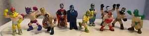 """Hey Homies, set of all12 different Mexican Wrestlers figures by X-Concepts, 2"""""""