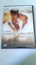"DVD ""Y AHORA... DAMAS Y CABALLEROS"" CLAUDE LELOUCH JEREMY IRONS PATRICIA KAAS"